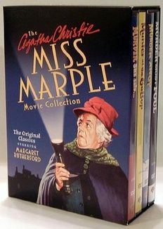 'Miss Marple Movie Collection'(1963-1964) four endearingly modest film productions,redeemed by unrivaled performances & mostly sharp scripts.The theme music is quirky '60s symphonic pop.Rutherford gets support from her real-life husband,who portrays Marple's Watson-esque sidekick & beloved character actors enliven the scenes.Joan Hickson,who would go on to play Miss Marple in the celebrated 1980's BBC series,has a bit part in 'Murder She Said'.She was Christie's choice for a perfect Marple.