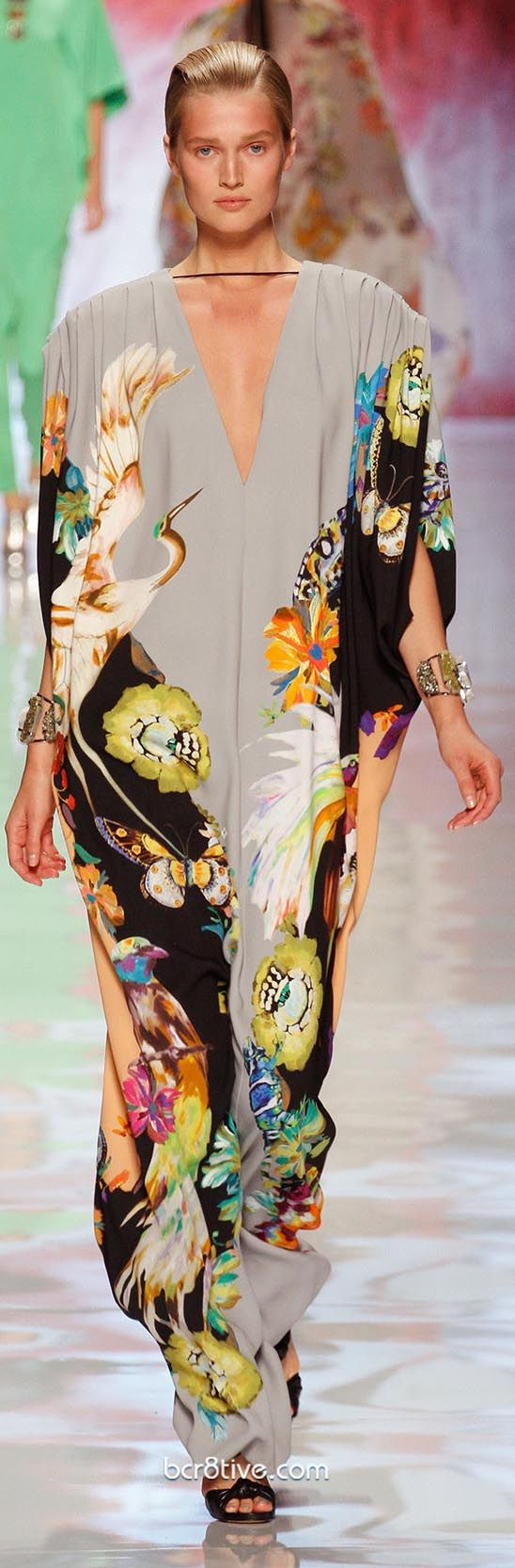 ETRO Spring Summer 2013 Ready To Wear Collection...now that's one hot moo-moo!