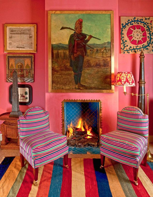 Lulu Lytle, the designer-decorator behind Soane Britain, prefers interiors that combine elements of several eras.
