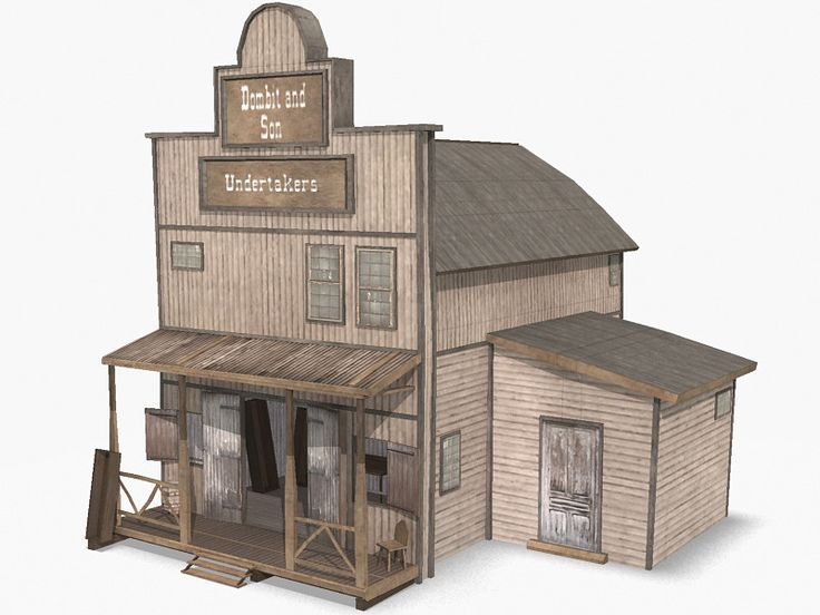 Wild West Buildings A Collection Of Ideas To Try About