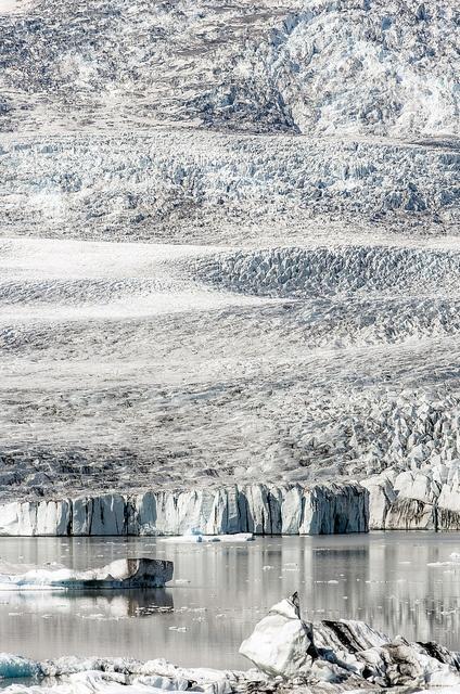 Glacier at Vatnajokull, Iceland