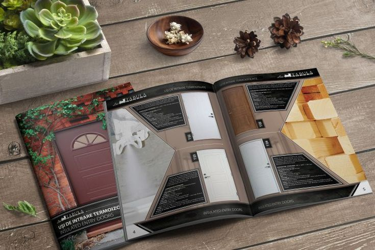 Tabula prospektus tervezése - Arculattervezés, kreatív grafika, webdesign, könyv tördelés, DTP,