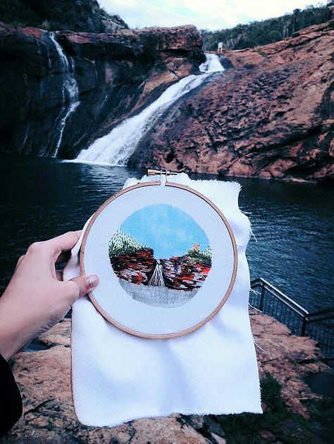 Sanatlı Bi Blog Gittiği Yerleri Bu Nakış Çalışmaları ile Renklendiren Kadın: Teresa Lim 8