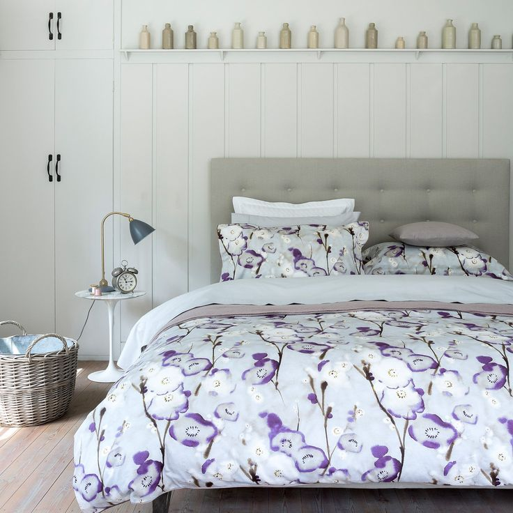 Christy of England Grace Purple Duvet Cover - Duvet Covers at Hayneedle