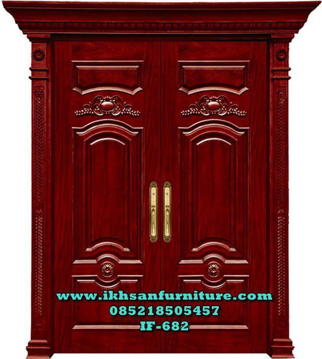Desain Pintu Utama Rumah Mewah