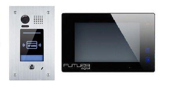 Futura video kaputelefonok szerelése az egy lakásos kiviteltől a társasházi rendszerekig. Árajánlatért forduljon hozzánk bizalommal. 06704269809