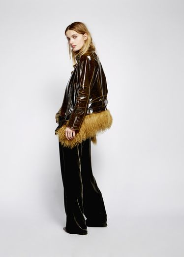 GLOWING EMOTION jacket with detachable fur Jackets & Coats | Dorothee Schumacher Onlineshop