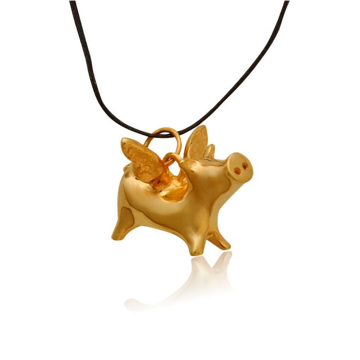 Flying pig/Jewelietta/ pendant
