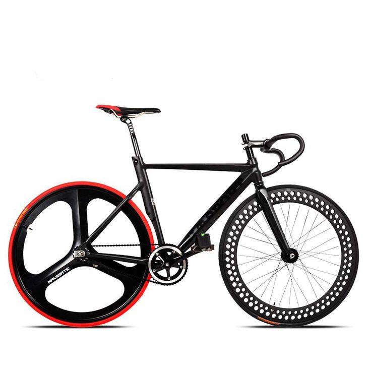 700c de carreras bicicleta de aleación de aluminio de artes fijos fija montar bici de la pista del diente de nuevo