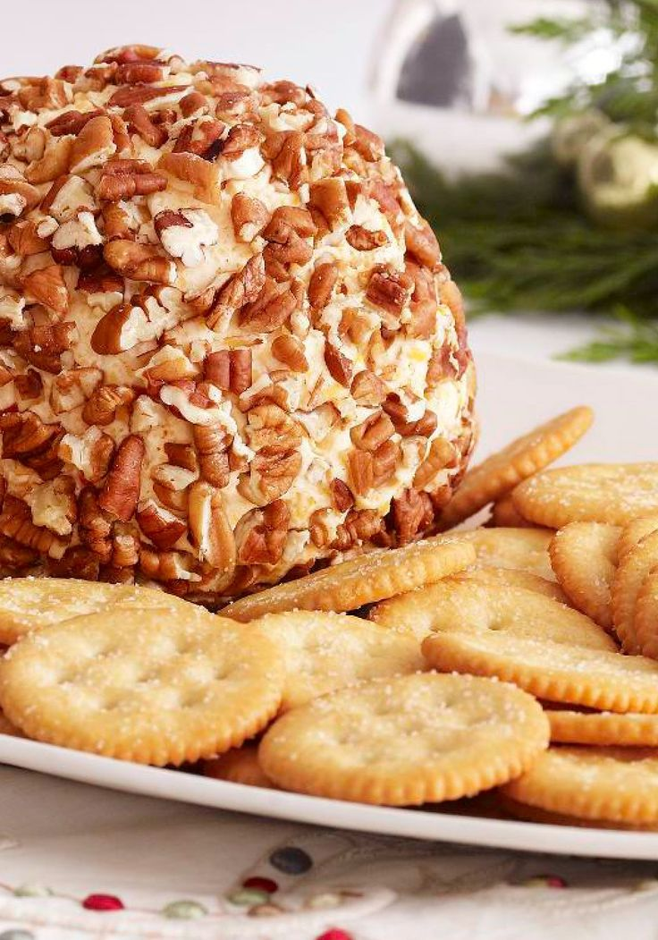 Party Cheese Ball – Known to frequent holiday open houses, this creamy cheese ball appetizer with a nutty exterior doesn't stick around long.
