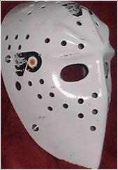 Bernie Parent's mask...