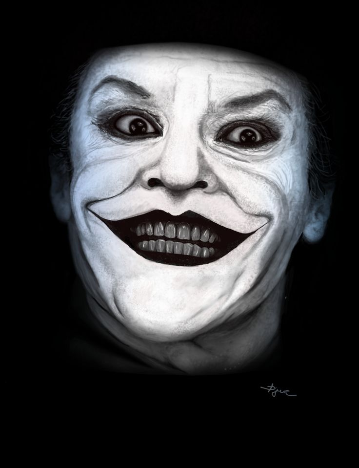 Joker - Digital painting