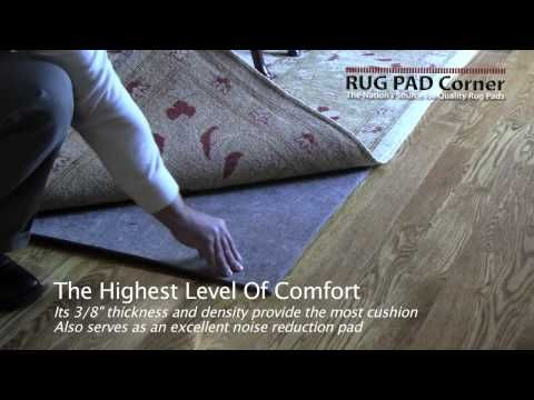 This Is An Excellent Video Showing Superior Felt Rug Pad In Action And Why  It Is