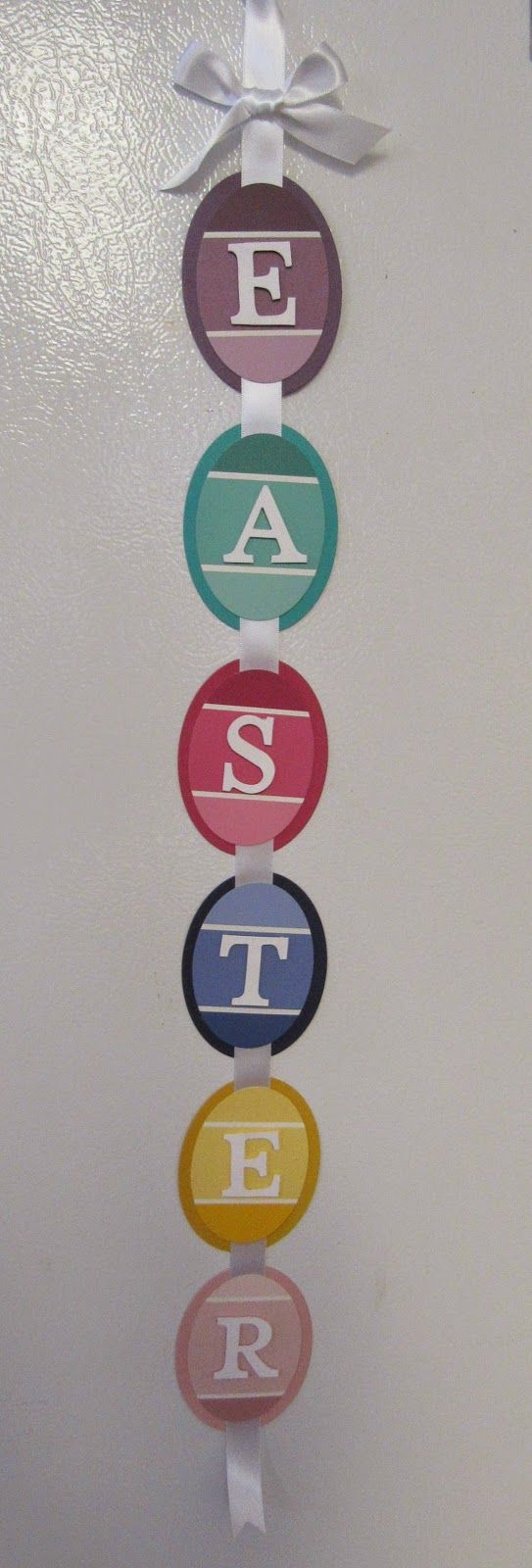 Personally Yours : Paint Chip Inspiration 2: Easter Banner