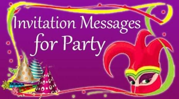 Invitation Messages for Party, Party Invitation Wording Sample, Example #auto #reply #examples http://reply.remmont.com/invitation-messages-for-party-party-invitation-wording-sample-example-auto-reply-examples/  Invitation Messages for Party The invitation messages for party are sent on different occasions to the guests by the host. The invitation messages are sent through text messages or through invitation cards. One can also send gifts along with the invitation cards for the special…