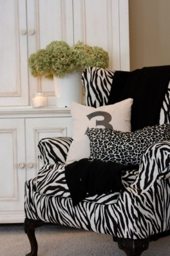 31 best images about wing back chairs on pinterest for Animal print furniture home decor