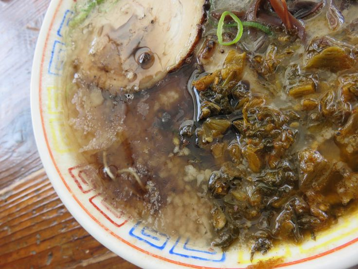 博多だるま 総本店:黒マー油高菜ラーメン