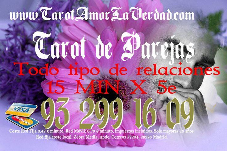 Soy Judith,consultame con tarot amor y de parejas.Medium espirista,española,certera y fiable.Entra www.tarotamorlaverdad.com y consulta tú horóscopo completamente gratis 100%.