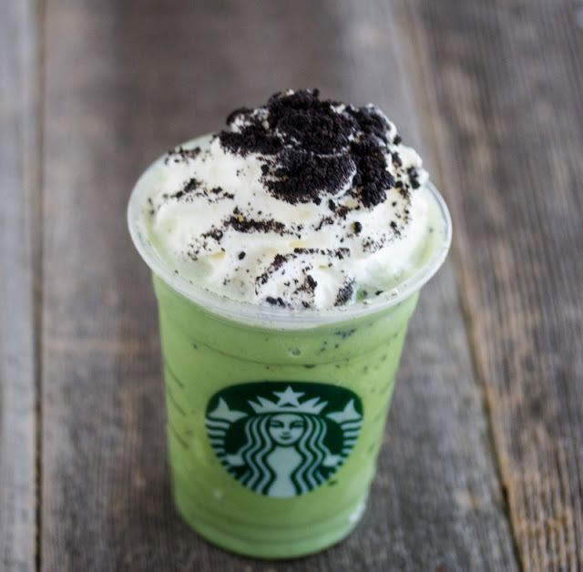 Mint Chocolate Chip Frapp - 35 Secret Starbucks Drinks You Didn't Know You Could Order