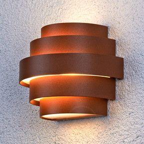 Ansprechende LED-Wandleuchte Enisa für außen 9618014