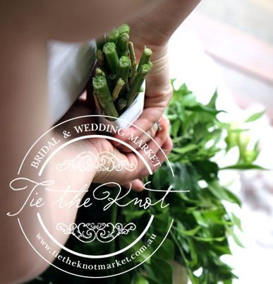 lily lilies greenery wedding bouquet
