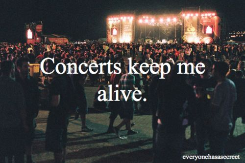 We couldn't agree more! We love concerts here at Valley View Casino Center in San Diego!!!
