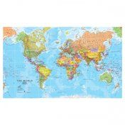 IXXI Mosaikbild Weltkarte politisch (200x120cm)