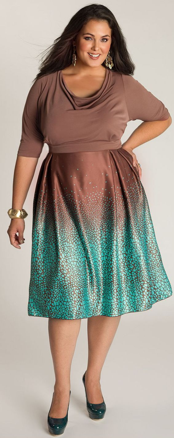 Cocktail Dress Big beautiful real women with curves fashion accept your body plus size body conscientiosness