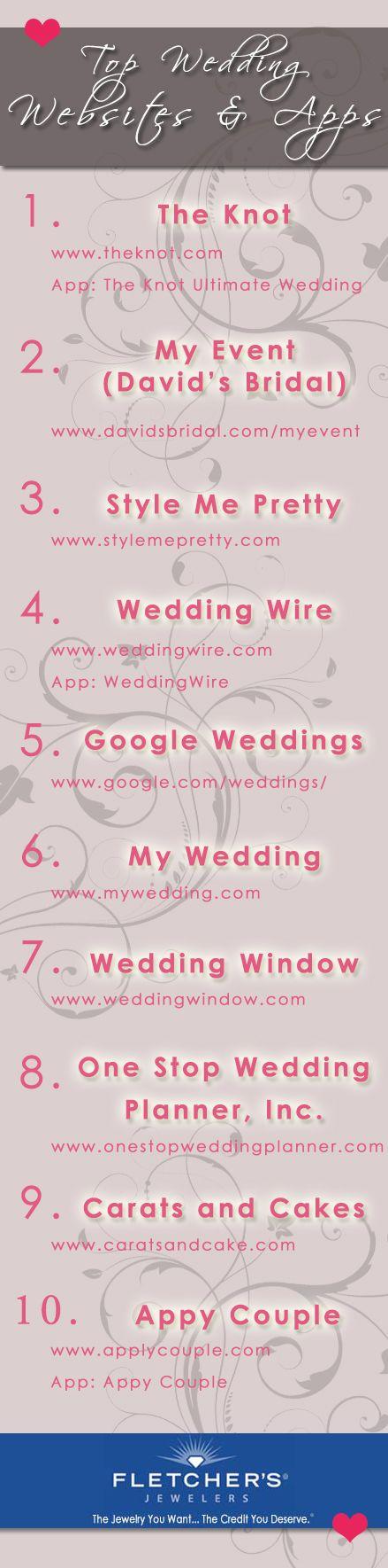 Top Wedding Planning Websites & Apps of 2013! | Revolutionizing the 21st century wedding planning process!