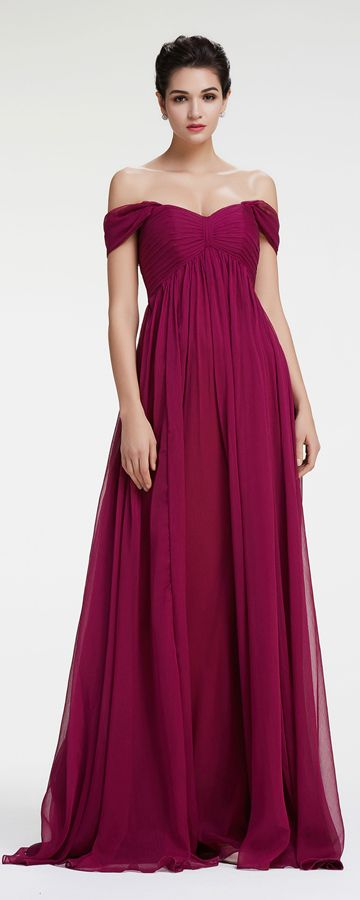 Magenta maternity bridesmaid dresses sweetheart off the shoulder bridesmaid dresses for pregnant evening dresses Mix and match bridesmaid dresses