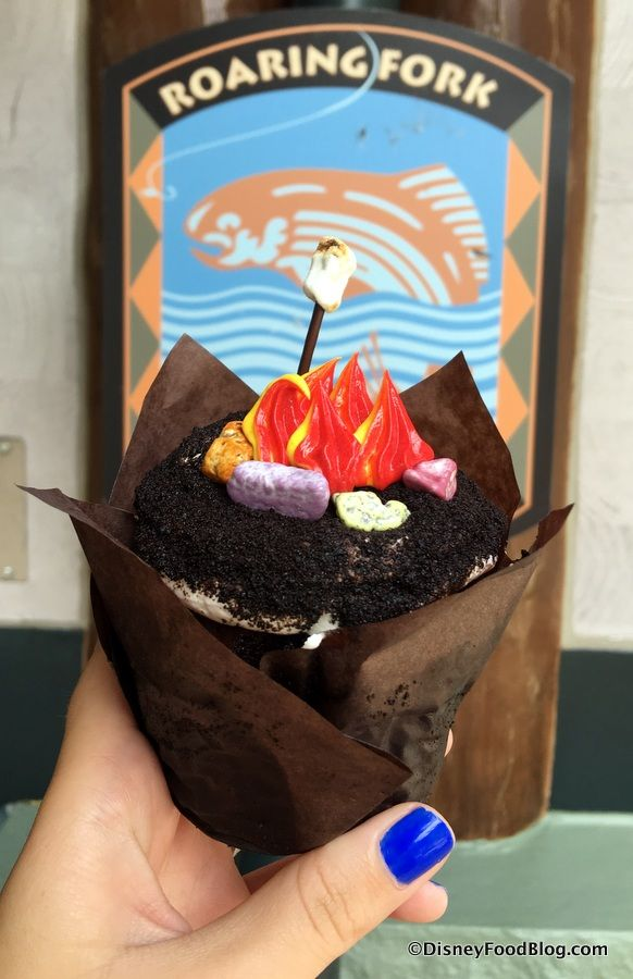 Campfire Cupcake at Roaring Fork at Disney's Wilderness Lodge