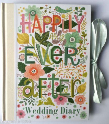 Felices-Para-Siempre-planificador-de-la-boda-Libro-Diary-Diario-gran-compromiso-Regalo