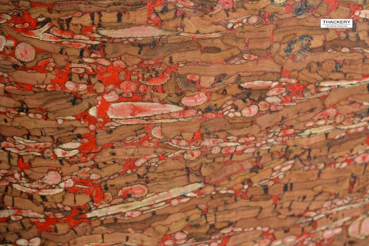 SPOTTED RED CORK FABRIC - finest available, Made in Portugal - Choose a Size - textile quality, appropriate for all applications