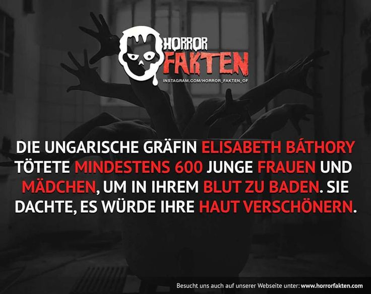 Und was ist euer Schönheitsgeheimnis?   #horror #horrorfakten #fakten