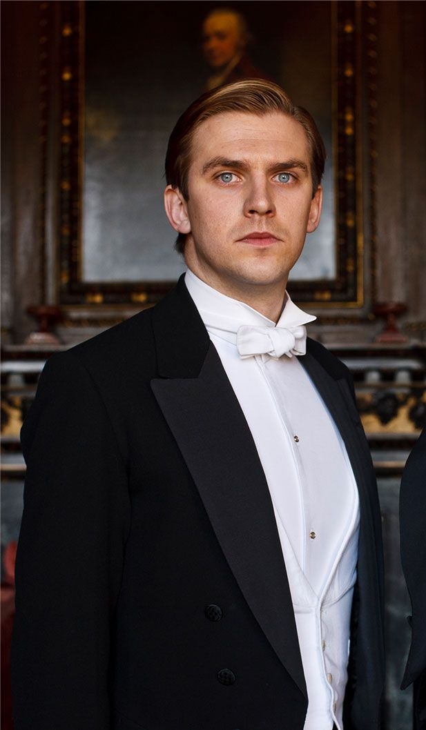 exhibition   Downton Abbey Exhibit.. Matthew Crawley ..