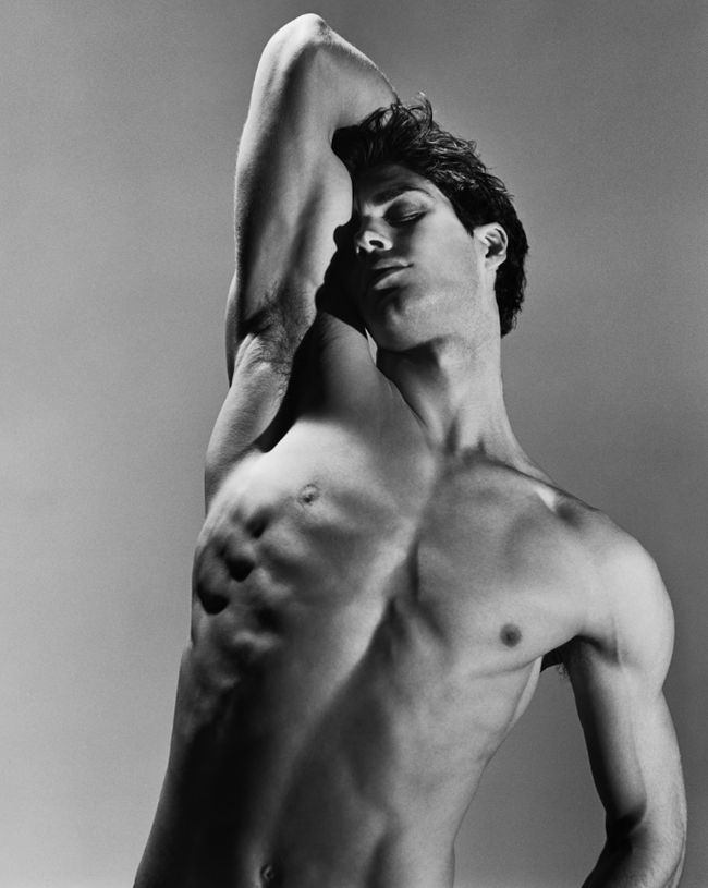 "Roberto Bolle, ""An Athlete in Tights Pt 1, 2009"", ph. by Bruce Weber"