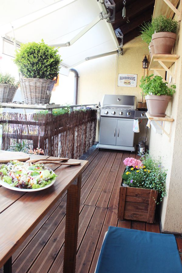 Hervorragend Best 25+ Balkon grill ideas on Pinterest | Balkon-Grill  KL28