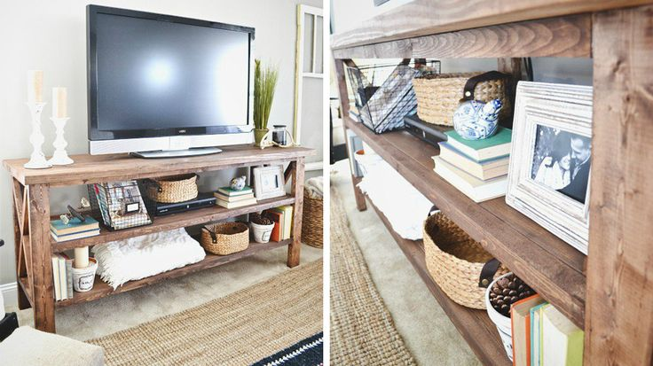 17 meilleures id es propos de fabriquer meuble tv sur for Fabriquer un meuble tv en bois