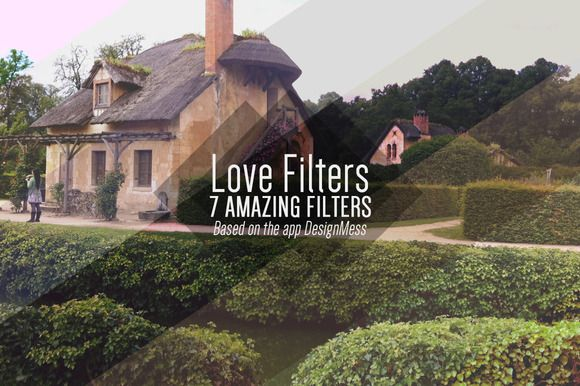 I just released 7 Love #Filters on #Creative #Market. #photoshop #Action