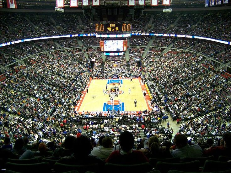Largest NBA Arenas: The Palace of Auburn Hills - Detroit Pistons