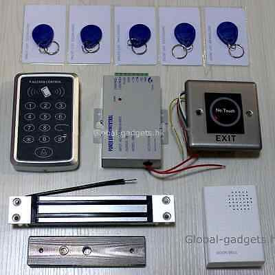 TOP Security RFID Door Access Control Kit + Magnetic Lock+ Infrared Exit Button - http://electronics.goshoppins.com/home-automation/top-security-rfid-door-access-control-kit-magnetic-lock-infrared-exit-button/