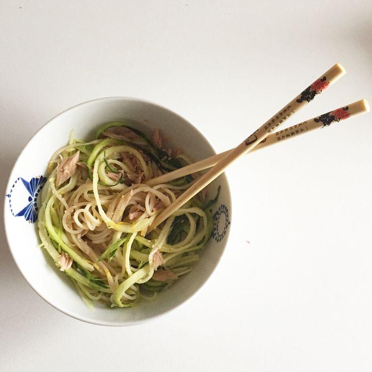 Chinese-mediterranean noodles