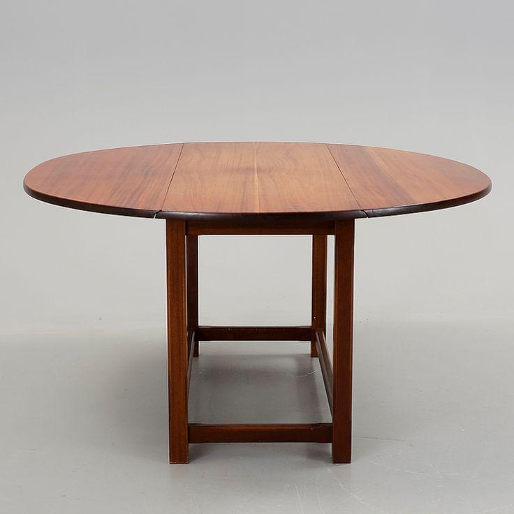 Hunters Table, stort runt matbord - Nordisk Retro & Design