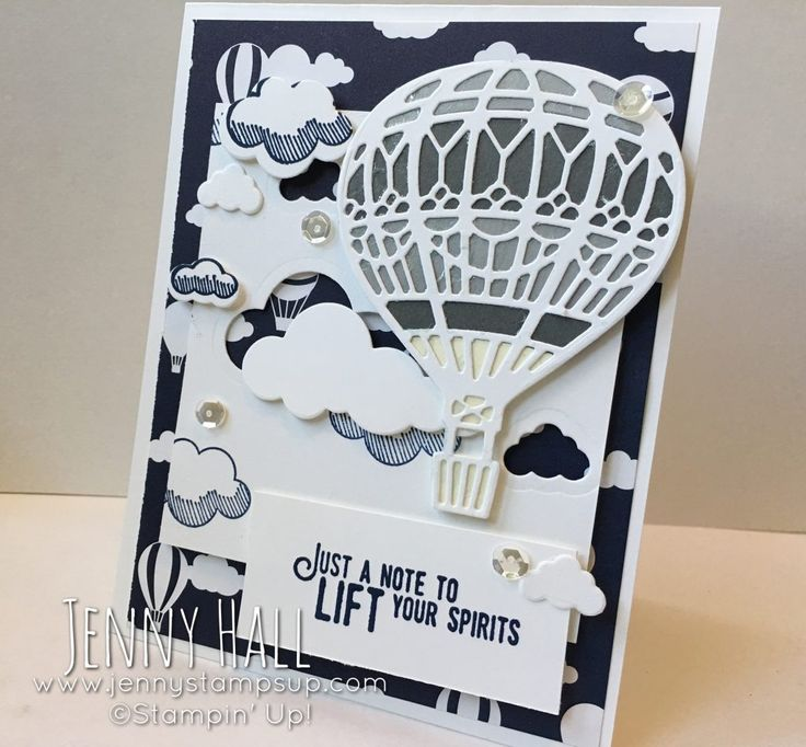 Stampin' Up, Lift Me Up Card