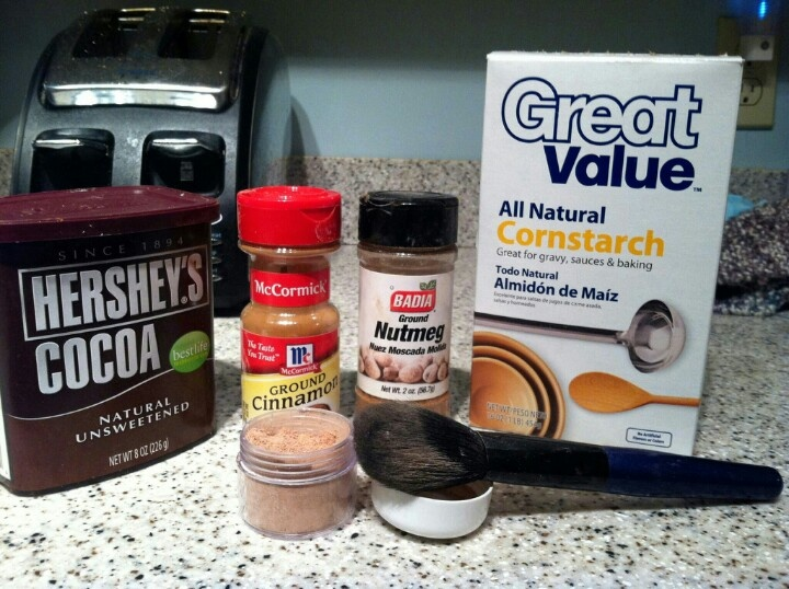 Best 25 homemade bronzer ideas on pinterest cocoa powder diy homemade makeup bronzer using cornstarch baby powder cocoa powder cinnamon and solutioingenieria Images
