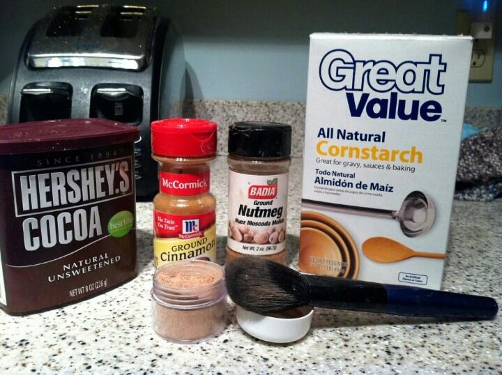 how to make cornstarch powder