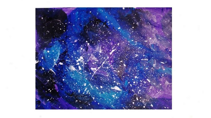 10 best images about painting lessons on pinterest for How to paint galaxy