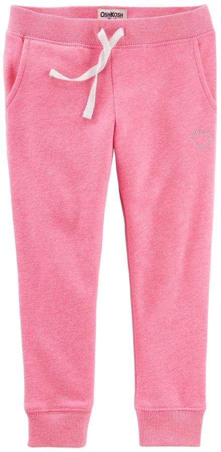 f69f57de4 Toddler Girl OshKosh B'gosh® Fleece Lined Jogger Pants | Products ...