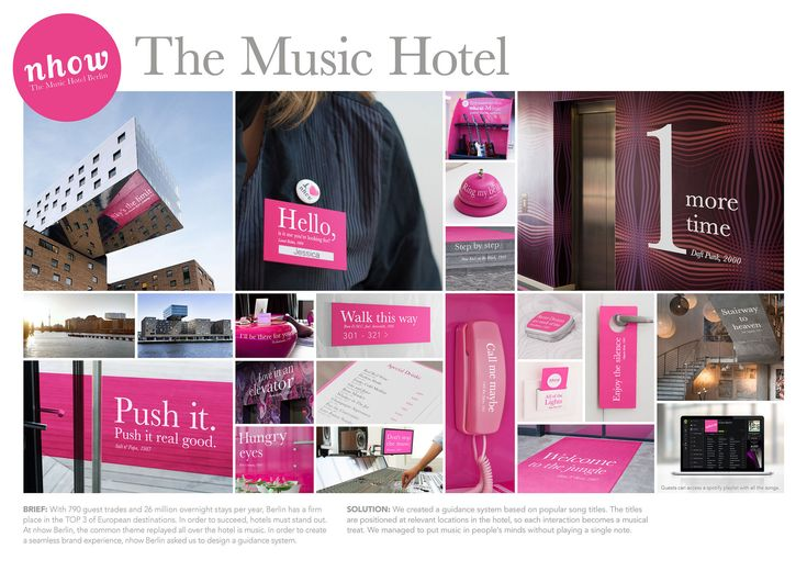 The Music Hotel | Signposting system | Beitragsdetails | iF ONLINE EXHIBITION