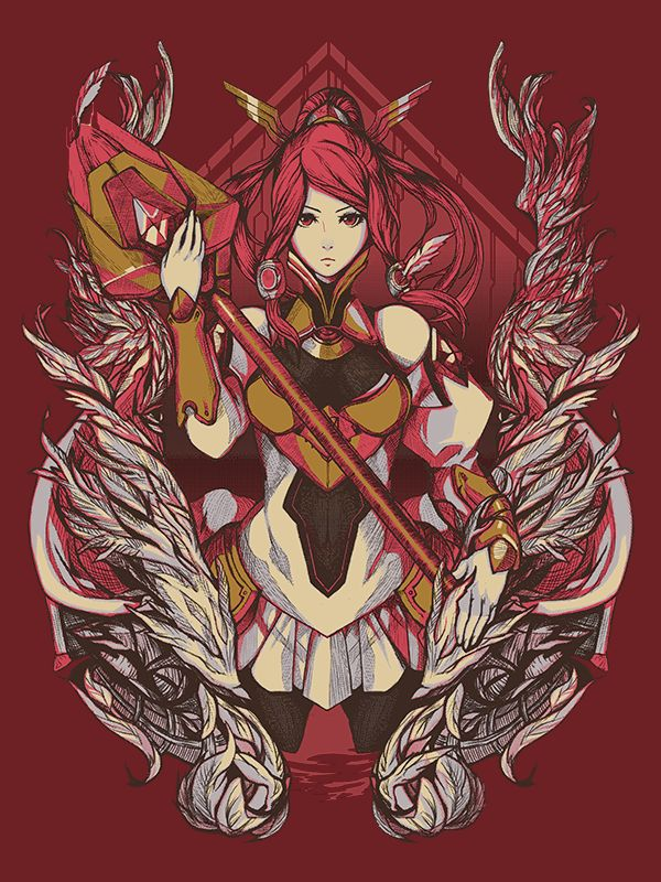 Engaging Lunar Drive! Type-Zero Izayoi! This Blazblue design features a beautiful design of Tsubaki utilizing the full capabilities of her arsenal! A great shirt for any lover of justice!